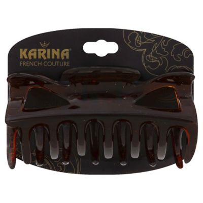 Karina French Couture Classic Tortoise Hair Clip