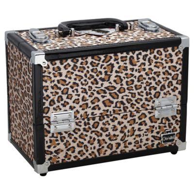 Caboodles Medium Cheetah Train Case