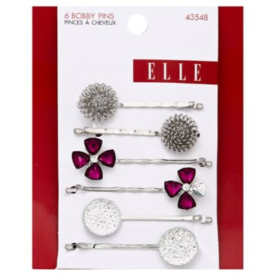 6-Pack Assorted Bobby Pins