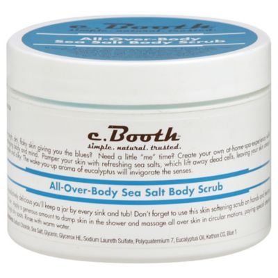 c. Booth™ 8 oz. All Over Body Sea Salt Body Scrub