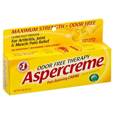 Aspercreme® 5 oz. Odor-Free Pain Relieving Cream with Aloe