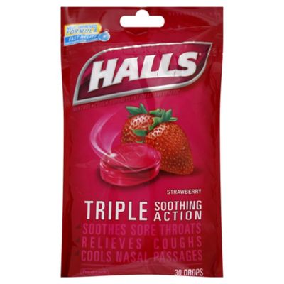 Halls Cough Drops-Lonzenges