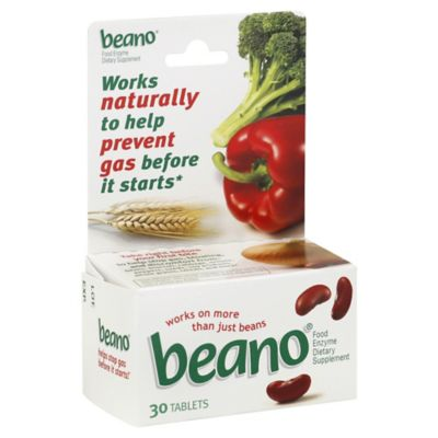 Beano Food Enzyme 30-Count Tablets