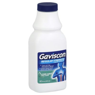 Gaviscon® 12 oz. Regular Strength Liquid Antacid in Cool Mint