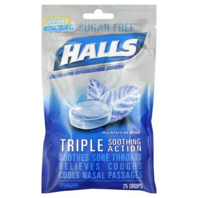 Halls Mentholyptus 25-Count Sugar-Free Cough Drops