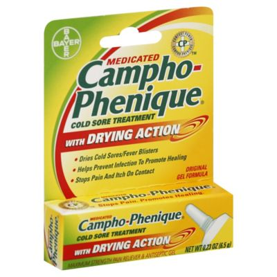 Campho-Phenique® 0.23 oz. Medicated Cold Sore Treatment Gel