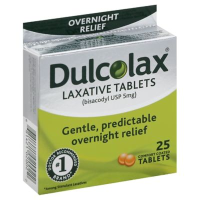 Dulcolax 25-Count Laxative Tablets