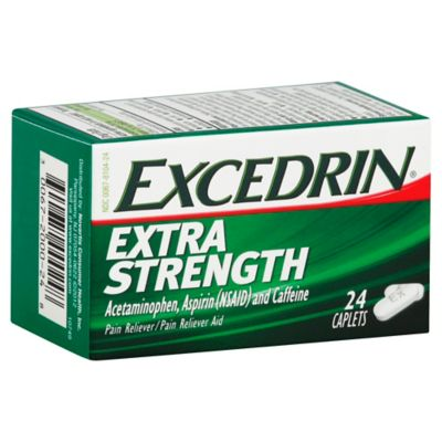 Extra Strength 24-Count Caplets