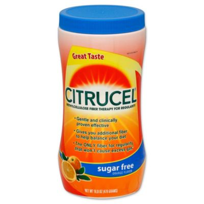 Citrucel 16.9 oz. Fiber Therapy Sugar-Free Powder in Orange