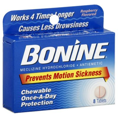 Bonine® 8-Count Chewable Motion Sickness Tablets
