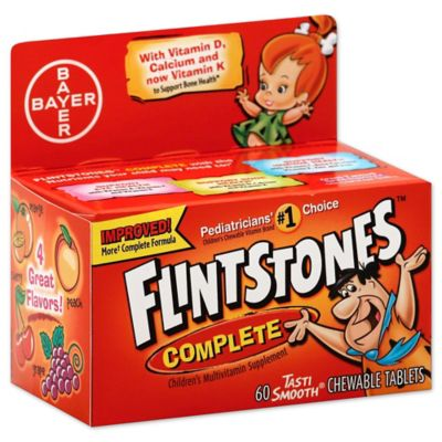 Flintstones™ Complete Multivitamin 60-Count TastiSmooth™ Chewable Tablets