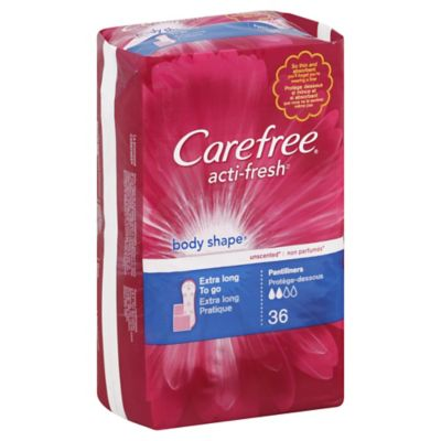 Carefree 36-Count Coverage Plus Pantiliner