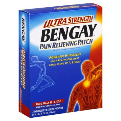 BENGAY® Ultra Strength 4-Count Regular Pain Relieving Patch