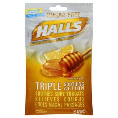 Halls Throat Drops