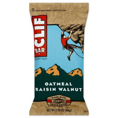 Clif Bar® Oatmeal Raisin Walnut 2.4 oz. Energy Bar