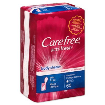 Carefree 30-Count Unscented Regular Pantiliners