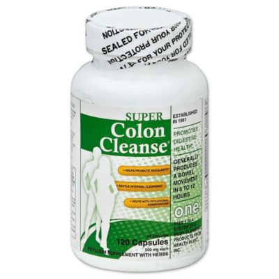 Colon Cleanse 120-Count Super Caplets