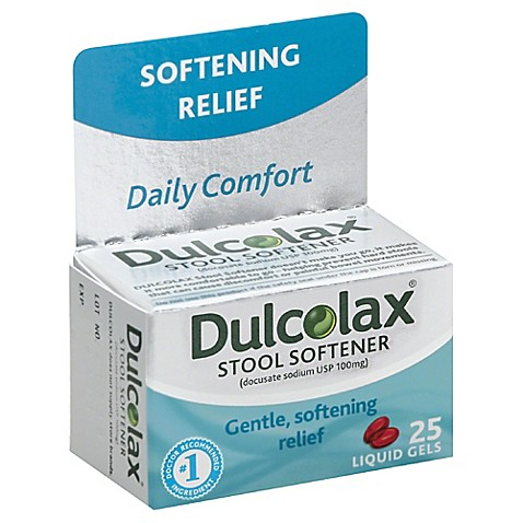 Dulcolax 174 35 Count Stool Softener Liquid Gels Bed Bath