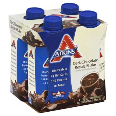 Atkins™ Advantage 4-Pack 11 oz. Shakes in Dark Chocolate Royale
