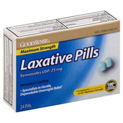 Buy Goodsense 174 100 Count Senna Laxative Tablets From Bed