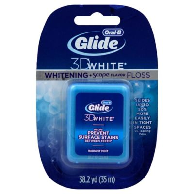 Glide 3D White Whitening with Scope Flavor Floss