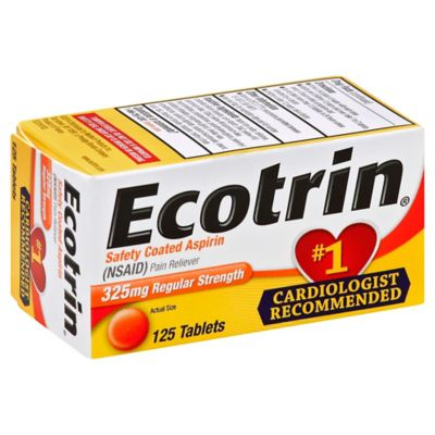 Ecotrin 125-Count Regular Strength Tablets