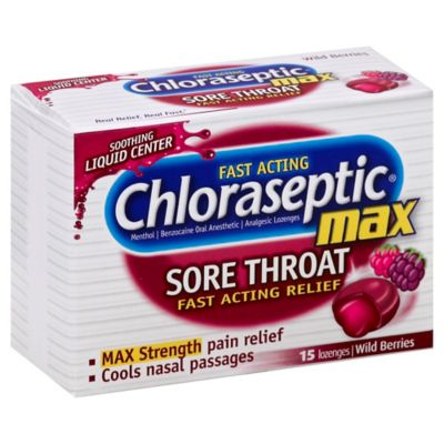 Chloraseptic Max 15-Count Lozenges in Wild Berry