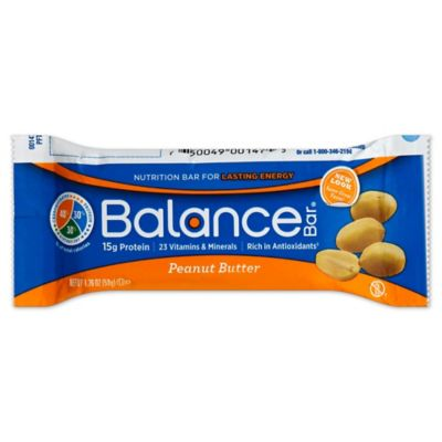 Balance 1.76 oz. High Protein Nutrition Energy Bar in Peanut Butter