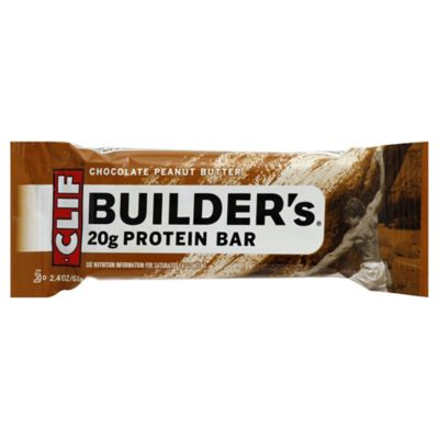 Clif Builder 2.4 oz. Chocolate Peanut Butter Protein Bar