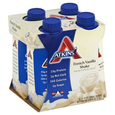 Atkins™ Advantage 4-Pack 11 oz. Shakes in French Vanilla