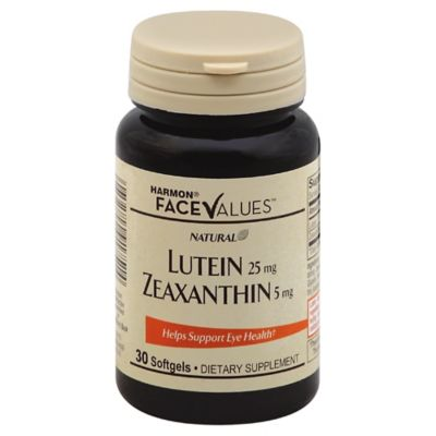 Harmon® Face Values™ Lutein with Zeaxanthin 30-Count Dietary Supplement Softgels