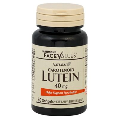 Harmon® Face Values™ 30-Count 40 mg Lutein Softgels