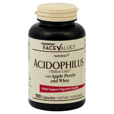Harmon® Face Values™ 180-Count Acidophilus & Pectin Capsules