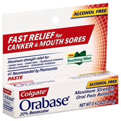 Colgate Orabase 0.42 oz. Paste