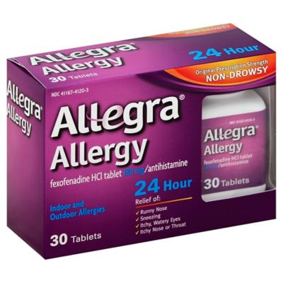 Allergy 24 Hour 30-Count Tablets