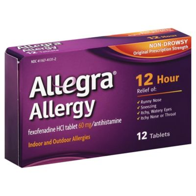Allegra® Allergy 12-Count 12-Hour Antihistamine
