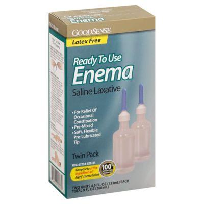 GoodSense 2-Pack 4.5 fl. oz. Enema