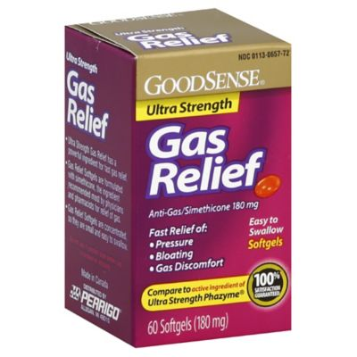 GoodSense Ultra Strength 60-Count Gas Relief Softgels