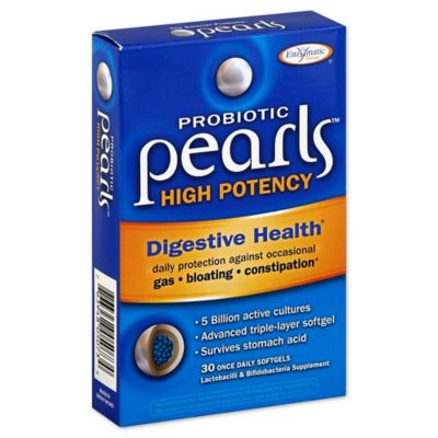 Enzymatic Therapy® Probiotic Pearls™ High Potency Digestive Health 30-Count Softgels