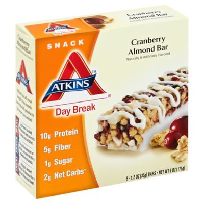 Atkins Day Break 5-Count Cranberry Almond Bar