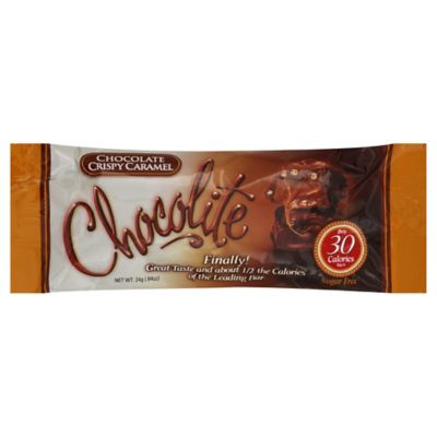 Chocolite 2-Pack Chocolate Crispy Carmel Bar