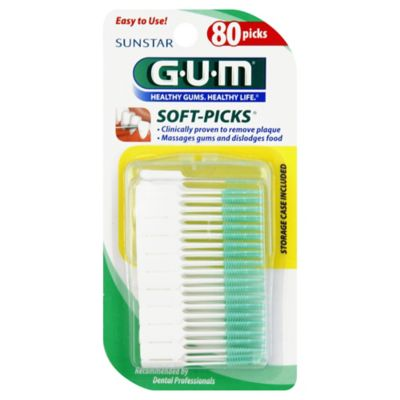 GUM 80-Count Soft Picks
