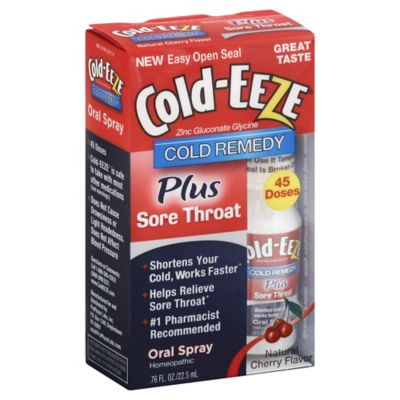 Cold-EEZE® Cold Remedy .76 oz. Oral Spray in Natural Cherry Flavor