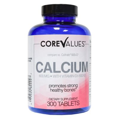 Harmon® Face Values™ Calcium + Vitamin D 300-Count 600 mg Tablets