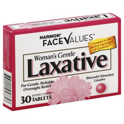Harmon Face Values Laxative Tablets