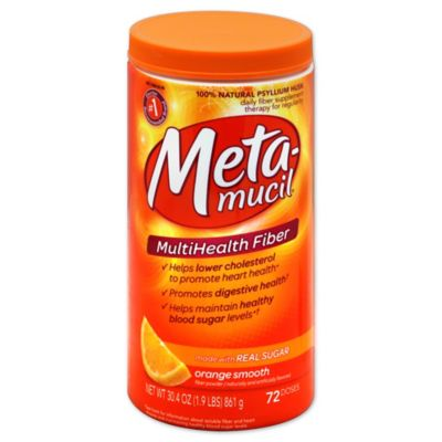 Metamucil Original Smooth Texture 72-Dosage MultiHealth Fiber
