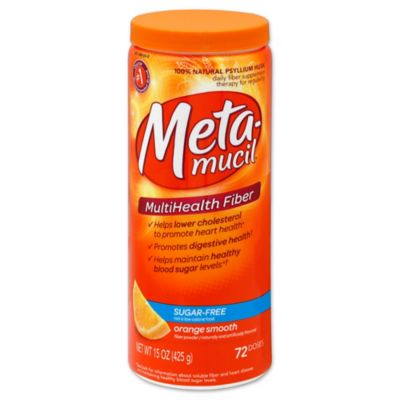Metamucil 72-Count Sugar Free Orange Smooth Daily Fiber Supplements