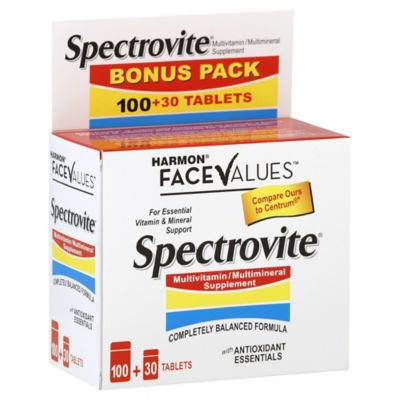 Harmon Face Values Multivitamin Multimineral Tablets