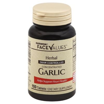 Harmon® Face Values™ 100-Count Garlic Tablets