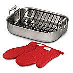 All-Clad Stainless Steel Roaster Set